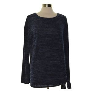 INC Womens Heather Pullover Sweater Side-Tie